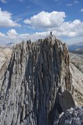 Rock Climbing Photo: The North Tower of Matthes Crest looking from the ...