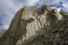 Rock Climbing Photo: Fishhook Arete with climbers on P1 for scale.