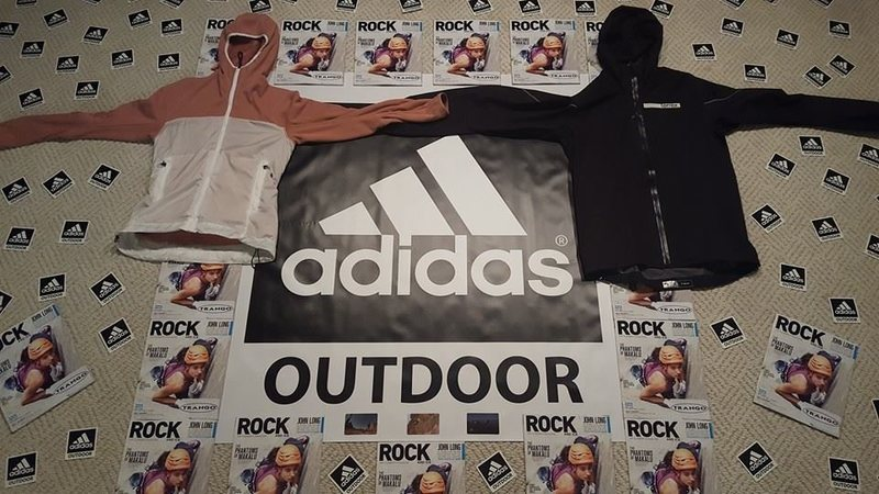 Rock Climbing Photo: Adidas is pitching us some sweet prizes along with...