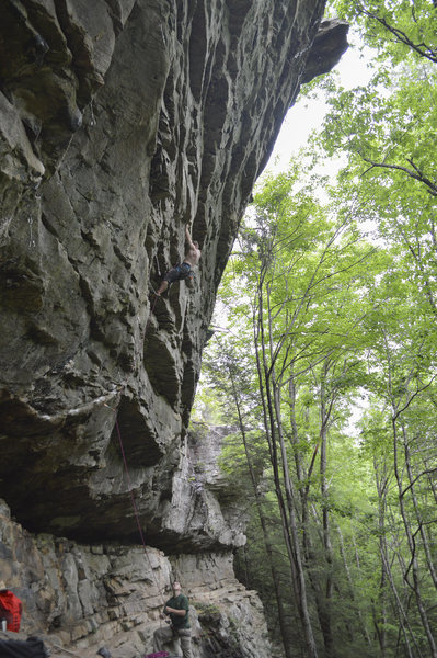 Mid route on Rules of Engagement. Incredible line with solid big moves the whole way!