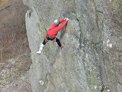 Rock Climbing Photo: Peg leg