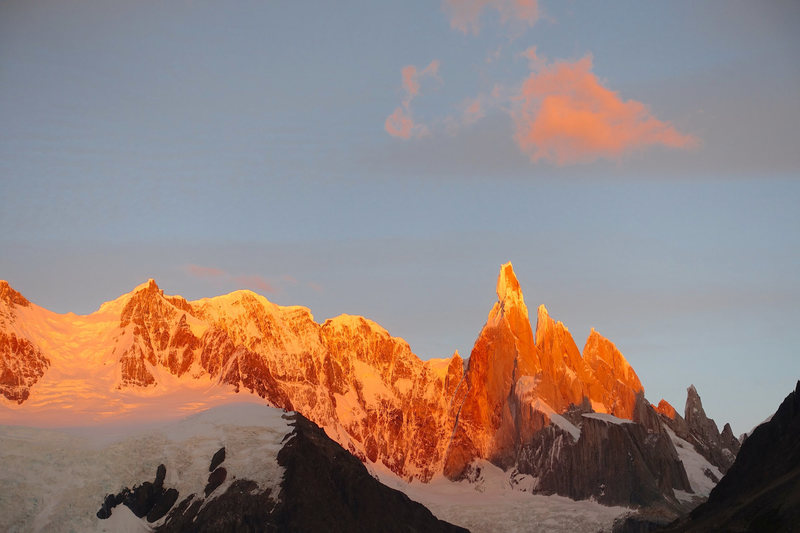 Dawn over Cerro Torre, February 2016