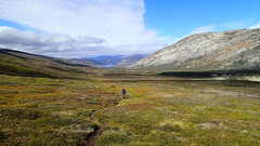 Rock Climbing Photo: Arctic Circle Trail, August 2014