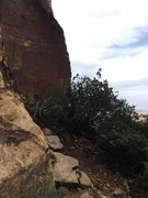 Rock Climbing Photo: The view from just after the rap into the bowl.  F...