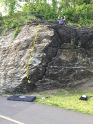 Rock Climbing Photo: Good view of the line.