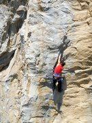 Rock Climbing Photo: Nostalgia (5.11c), Riverside Quarry