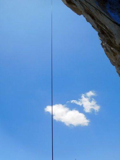 Rock Climbing Photo: A slender thread, Riverside Quarry
