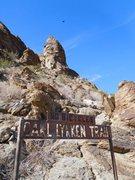 Rock Climbing Photo: Carl Lykken Trail, Palm Springs