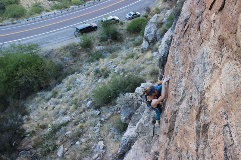You can almost belay from your tailgate..