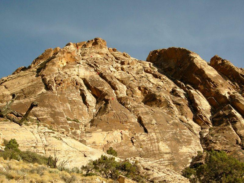 Windy Peak. Crocodile Rock shown.