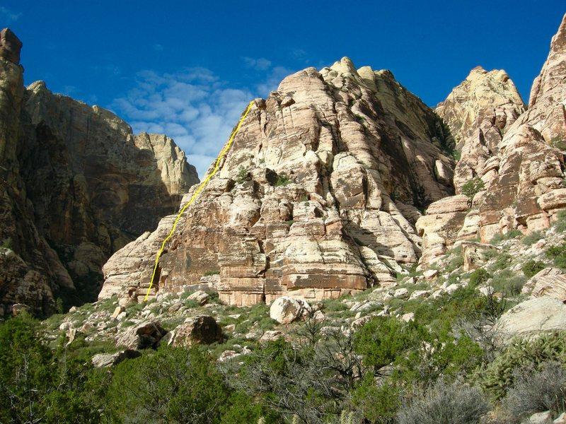 Rock Climbing Photo: Juniper Canyon, Jackrabbit Buttress, Myster Z.
