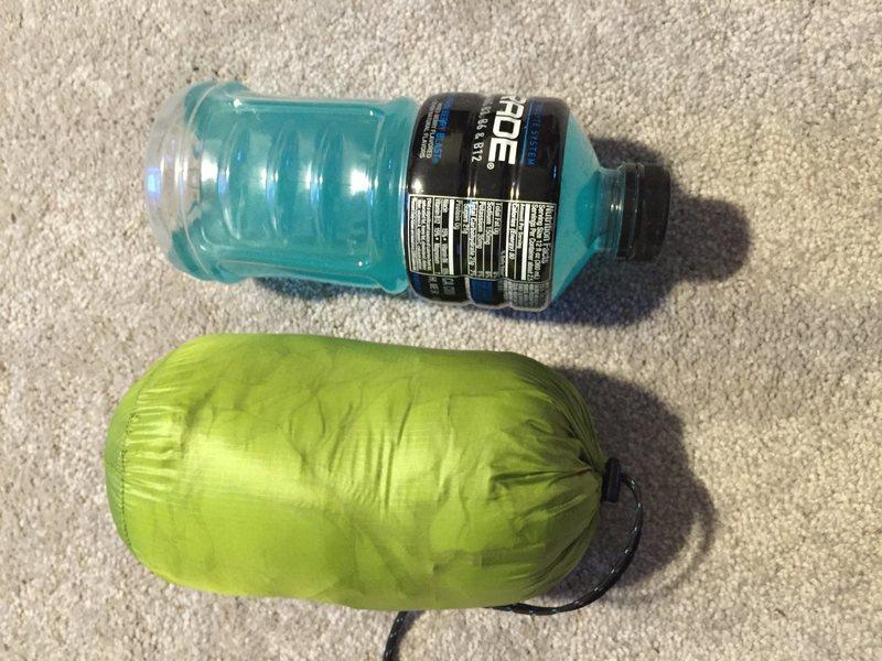 Rock Climbing Photo: Jacket vs bottle