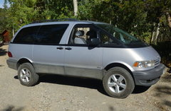 Rock Climbing Photo: Lifted 4x4 hi/lo transfer case, 5 speed manual tra...