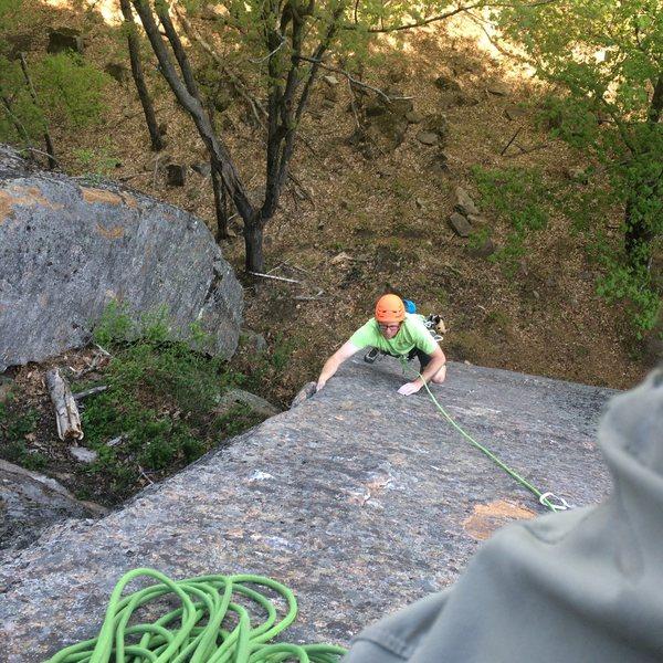 Rock Climbing Photo: Allez-up