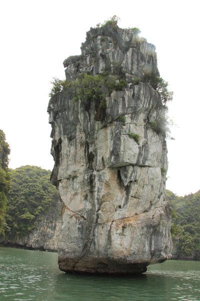 Hon Dua, taken from Asia Outdoor tender boat