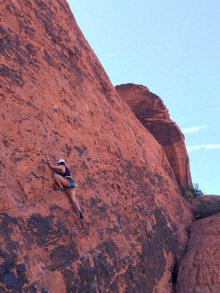 panty wall at red rocks