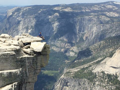 Rock Climbing Photo: Half Dome Summit