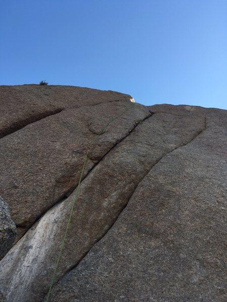 Rock Climbing Photo: Death Watch