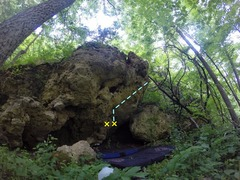 Rock Climbing Photo: Sorry for the bad photo and topo, will get a bette...