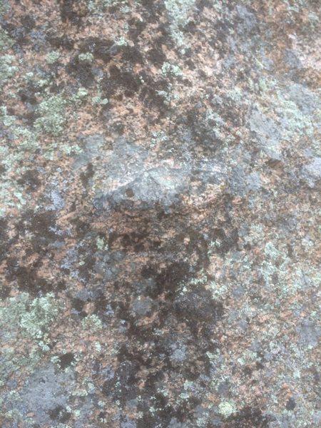 Rock Climbing Photo: The starting jug.