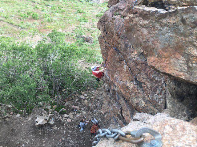 Rock Climbing Photo: Ogden