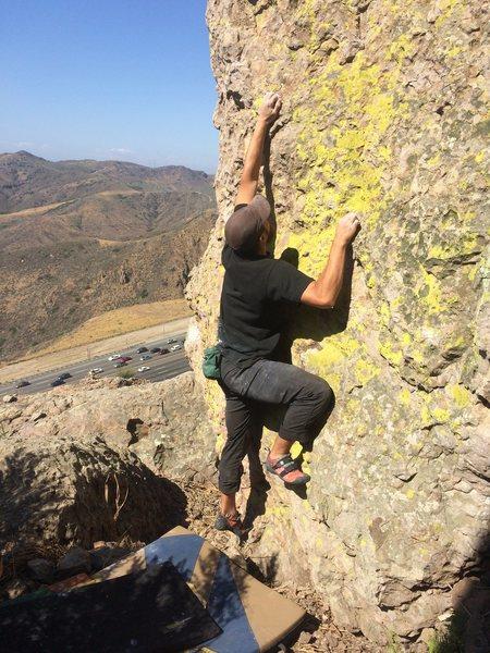 Rock Climbing Photo: Randall