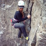 Rock Climbing Photo: Fun follow