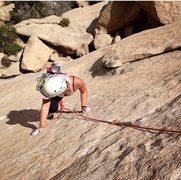 Rock Climbing Photo: Private Eye, Joshua Tree