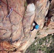 Rock Climbing Photo: Leonids, El Cajon