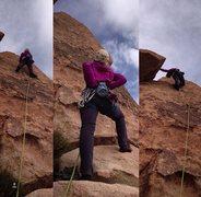 Rock Climbing Photo: George's Route, Joshua Tree
