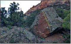 Rock Climbing Photo: Miny Moe beta.