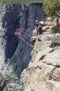 Rock Climbing Photo: Black Canyon