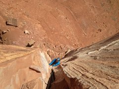 Rock Climbing Photo: North Chimney Castleton
