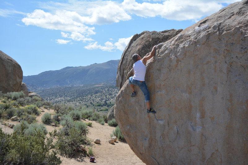 Rock Climbing Photo: Vu