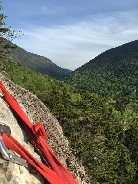 Rock Climbing Photo: The Awesome view from the anchors