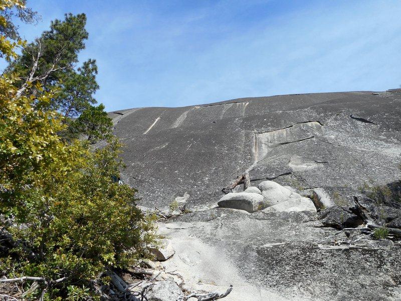 Rock Climbing Photo: Silver Streak Wall.