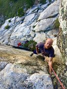 Rock Climbing Photo: Local Urban Legand and MP Dark Horse Master sendin...