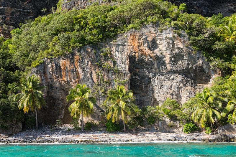 Rock Climbing Photo: Coconut Crunch wall