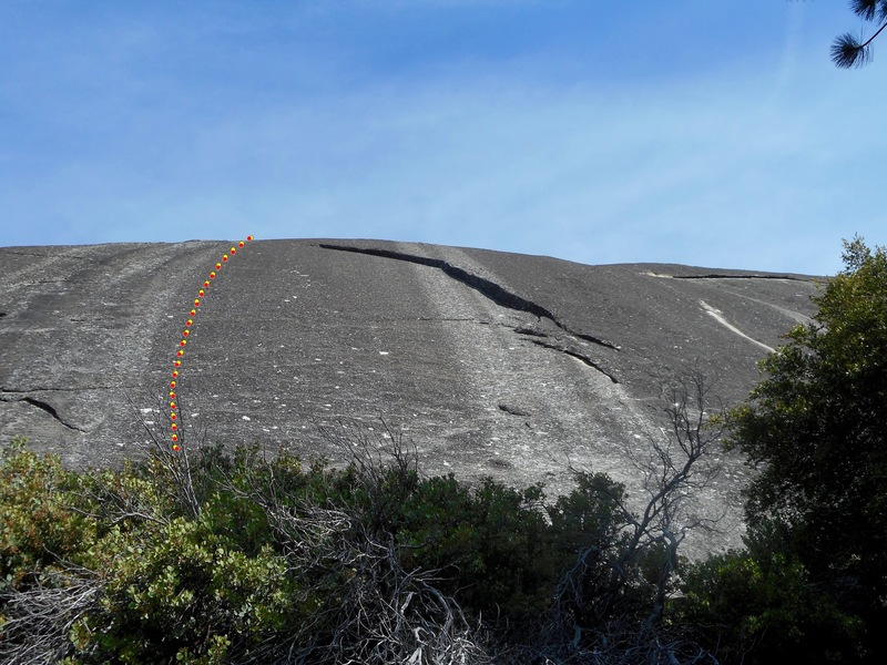 Rock Climbing Photo: Approximate location of Rio Negro.