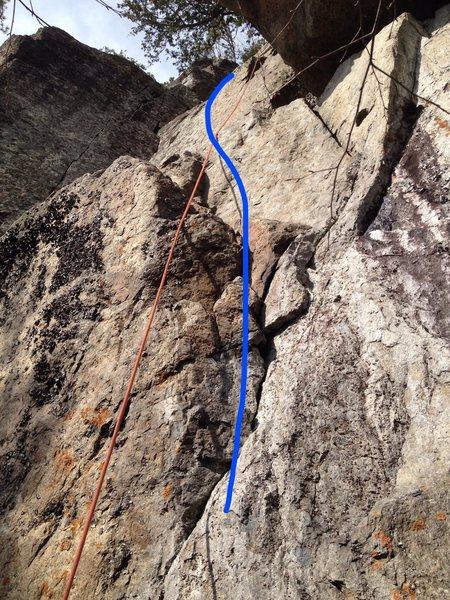 Rock Climbing Photo: Save a Horse