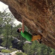 Rock Climbing Photo: Michael Madsen on virgin martini