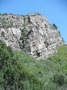 Rock Climbing Photo: Center of Boot Hill