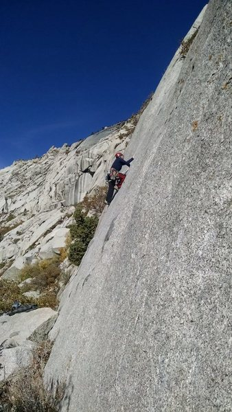 Jamming on Bushwhack Crack