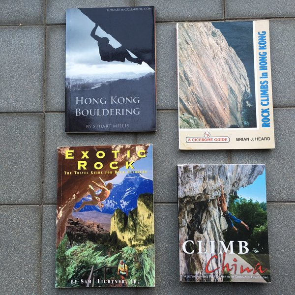 Rock Climbing Photo: Guidebook sampler