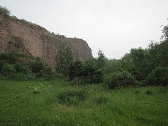 Rock Climbing Photo: The Sonnenwende sector.