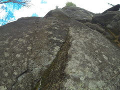 Rock Climbing Photo: Start of Menhir