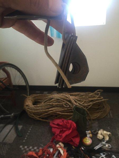 Old bolt hangers