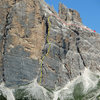 Primo Spigolo, a.k.a. South Face Buttress 1, a.k.a. South Arete, a.k.a. First Arete