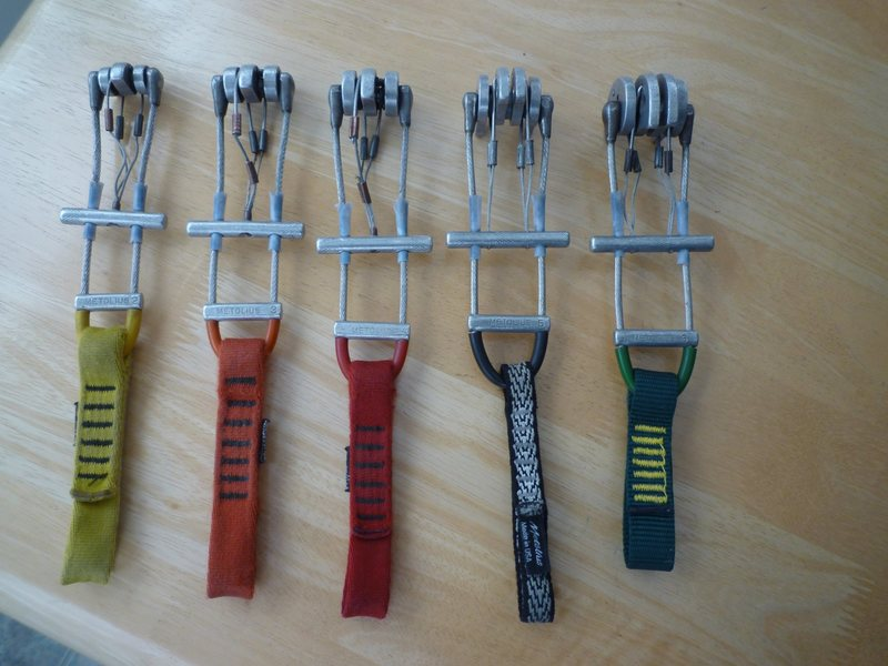 set of Metolius cams