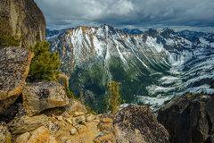 Rock Climbing Photo: View of Kangaroo Ridge from Beck Route of Liberty ...